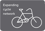 Expanding cycle network